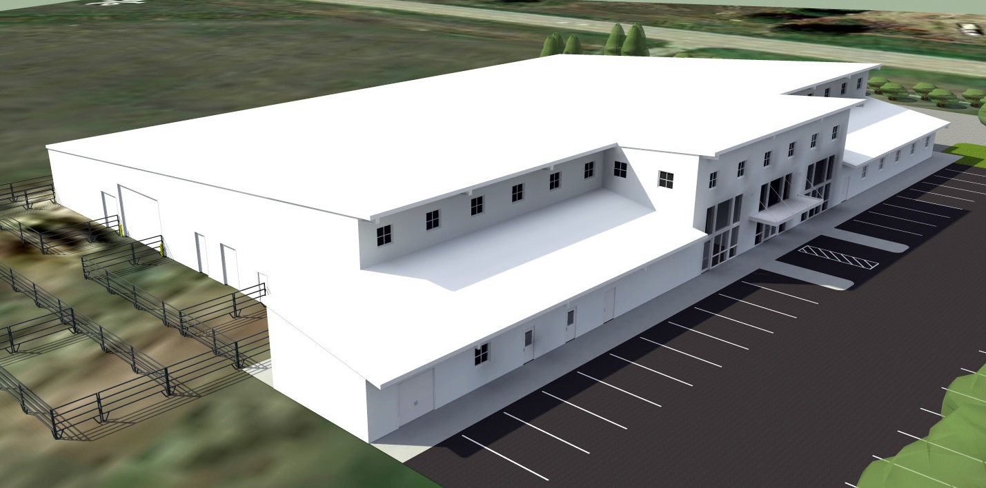 Ag Center Rendering