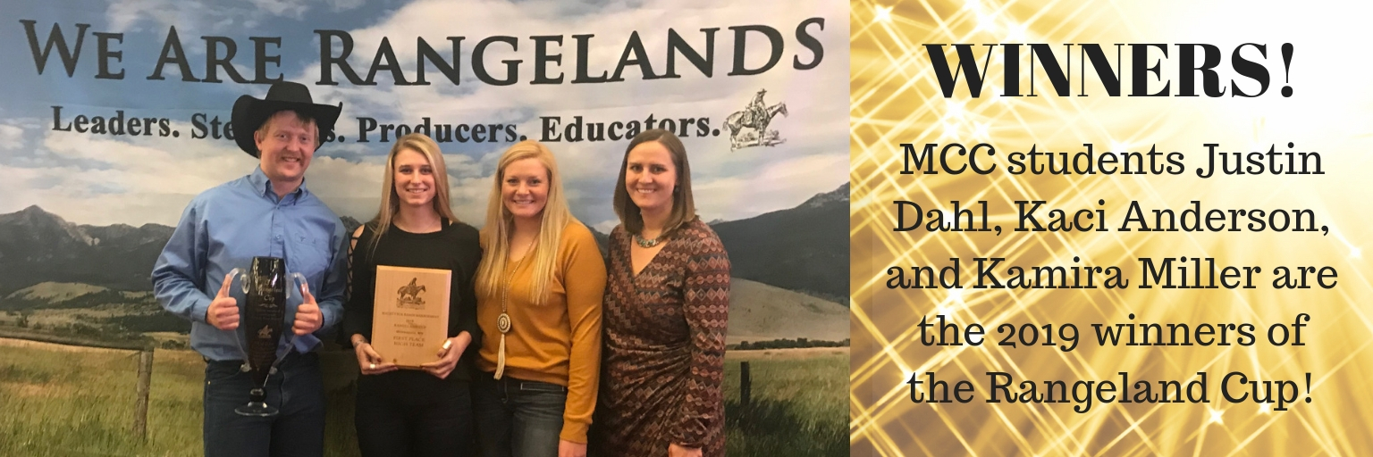 Winners of Rangeland Cup Competition