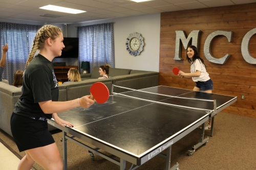 Ping Pong at the Commons